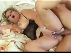 Horny chubby mature loves her ass fucked tube porn video