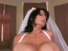 Big Tits, Big Tits, Boobs, Bride, Wedding, Married