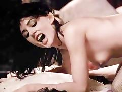 Colleen Brennan, Laurie Smith, Jamie Gillis in hot vintage xxx sex scene by the fire