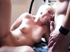 Skinny German Teen in privat Gangbang with 3 old men tube porn video