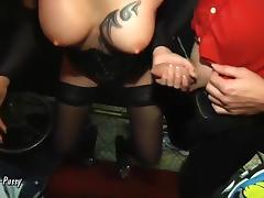 Vienna-Twat - Celine Arschfick-Party mit 5 Schwanzen