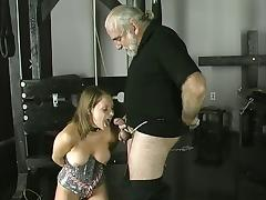 Gagging, BDSM, Bound, Brunette, Choking, Gagging