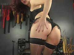 Ass Worship in Lingerie and Stockings