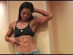 Gorgeous Korean Fitness Model tube porn video