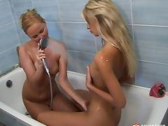 Bathing, Amateur, Bath, Bathing, Bathroom, Close Up