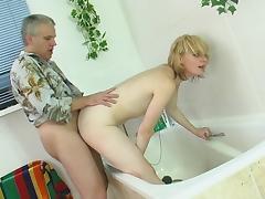 HornyOldGents Movie: Inessa B and Caspar M tube porn video