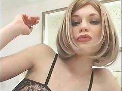 Smoking short but hot tube porn video