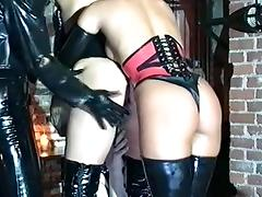 Two femdom mistresses humiliating a slave girl porn tube video