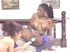 Aja, Cheri Taylor, Ebony Ayes in classic fuck video
