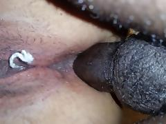Anal during her period