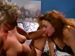 Amanda Stone, Angela D'Angelo, Dusty in classic fuck movie