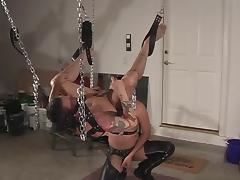 Horny gay men fucking ass BDSM tube porn video