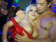 Girls so turned on by male strippers they fuck and suck them tube porn video