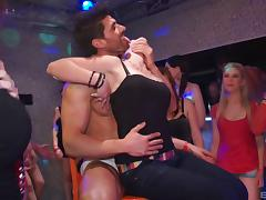 Dance party in a club quickly becomes a steamy orgy 5