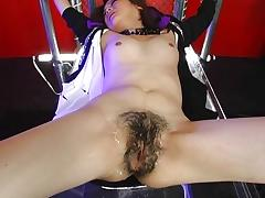 Bound, Asian, Black, Blowjob, Bondage, Boobs