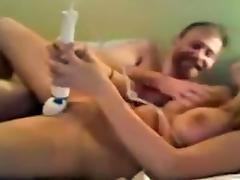 Couple Dildo Play tube porn video