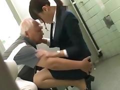 Japanese Grandpa having fun with young girls part 1 porn tube video