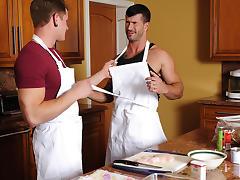 Adam Killian & Trent Diesel in Chef's Delight Movie