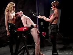 Enslaved pornstar with her big tits getting brutal fetish while being humiliated in BDSM sex
