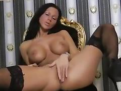 Sexxy German Rubs & Plays tube porn video