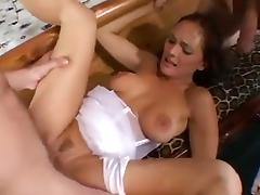 Bride, Big Tits, Bride, Facial, Group, Orgy