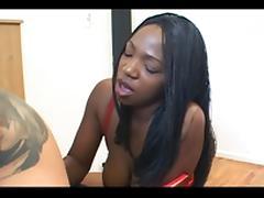 3 lesbian hotties using a dildo