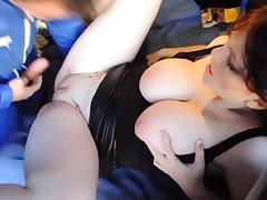 exhibe couple fuck outdoor, huge tits tube porn video
