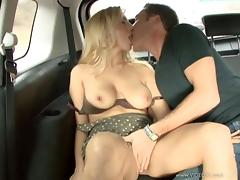 Car, Babe, Big Tits, Blonde, Boobs, Bra