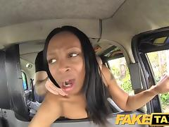 FakeTaxi Naked woman in London taxi tube porn video