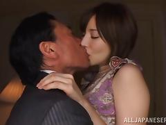 Foxy Asian bimbo has her hungry pussy drilled hardcre