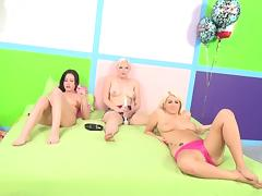 Kinky group sex in this video online