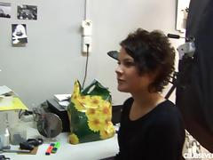 Seductive chic casting her perfect body tube porn video