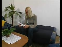 German MILF get a fuck from neighbor tube porn video