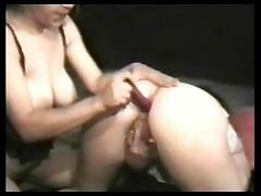 amateur lesbian anal toying her mature girlfriend