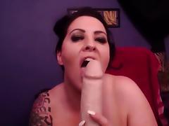 Meet my huge G boobs! enjoy hot titty-fuck!