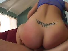 Big Butt Beauty GP Takes a Load on the Cheeks