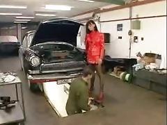 German Car Meachanic Handwerk