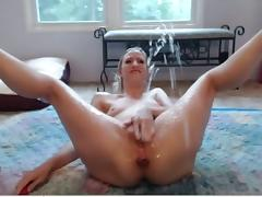 Squirt, Anal, Small Tits, Squirt, Female Ejaculation