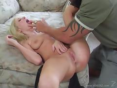 Hillary Scott gets poked in the pussy and ass by a hung stud tube porn video