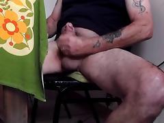 Str8 daddy play watching porn