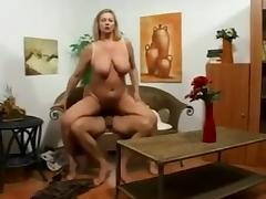 granny with big tits fucked