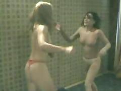Catfight, Catfight, Skinny, Small Tits, Wrestling, Fight