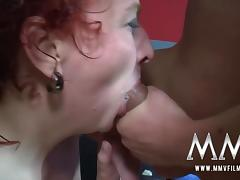 MMV FILMS Teen Mature and Redhead all have the right to fuck