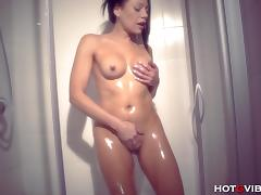 MILF Squirting in Shower
