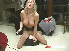 Crying, Big Tits, Machine, Masturbation, MILF, Orgasm