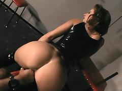 BDSM hottie banged hard
