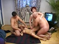 18 19 Teens, 18 19 Teens, Amateur, Group, Orgy, Russian