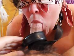 Blindfolded, BBW, BDSM, Blindfolded, Blowjob, Chubby