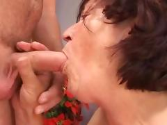 I wanna cum inside your grandma porn tube video