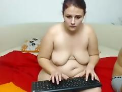 Getting a hot amateur blowjob in front of a webcam tube porn video